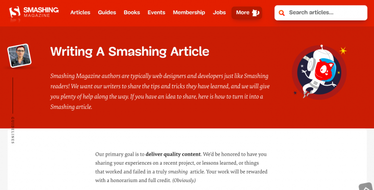 Smashing Magazine Write for Us User Generated Content