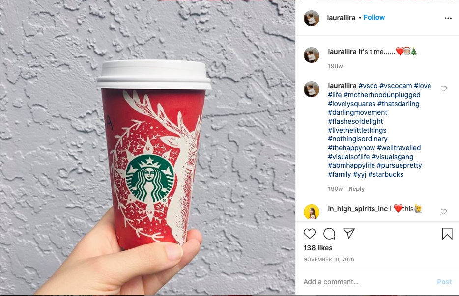 Starbucks Red Cup Contest