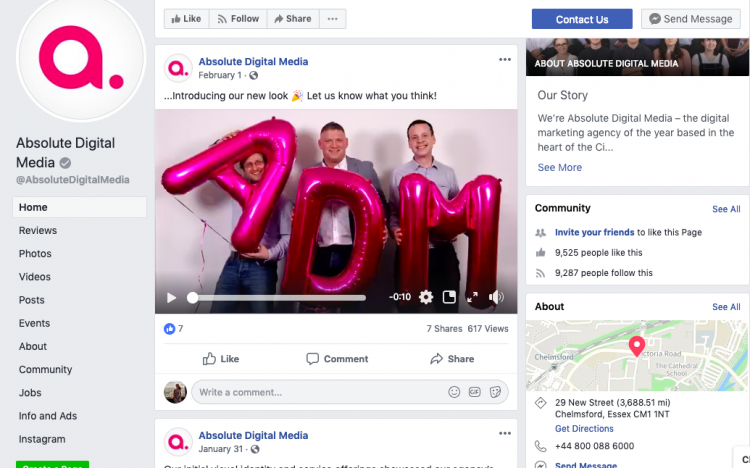 small businesses can use video on social media platforms such as Facebook