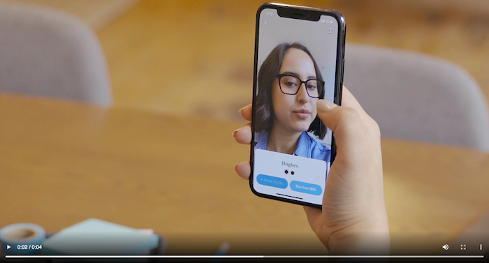 "Brands can use AR filters to allow customers to ""try"" their products before buying."