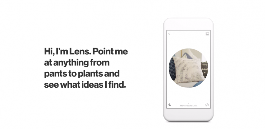 example of Pinterest's visual search tool, Lens