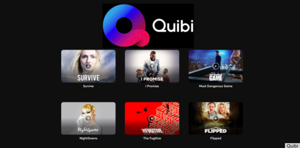 Quibi Interface