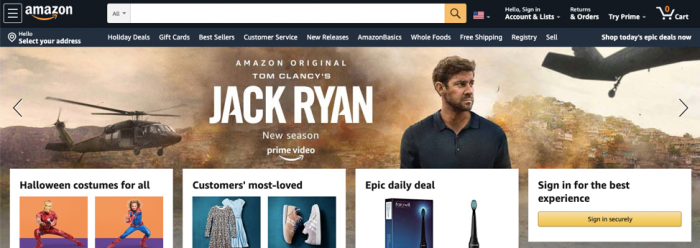 Amazon colors brand identity